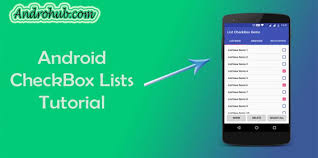 android toolbar tutorial android listview checkbox androhubandrohub