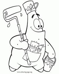 the stylish patrick star coloring pages intended to invigorate in