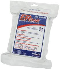 er emergency ration 1a 2400 calorie emergency food bar for