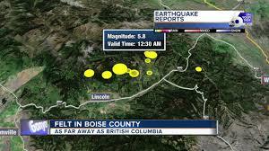 Western Montana Map by Earthquakes Rattle Western Montana Youtube