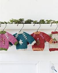 sew and tell tiny sweater ornaments sew homework and sweaters