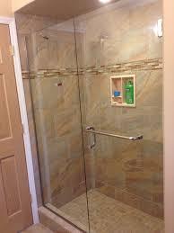 Non Glass Shower Doors Shower Door Replacement Splendor Towel Bar Throughout Decorations