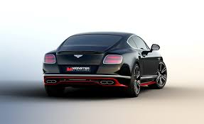 bentley bentley announces limited monster by mulliner continental gt