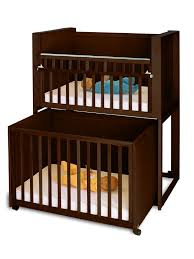 Crib Beds Bunk Bed With Baby Crib Baby And Nursery Furnitures