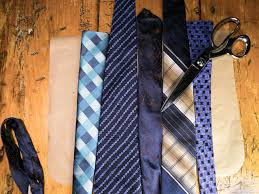 how to make a tote bag out of upcycled neck ties how tos diy