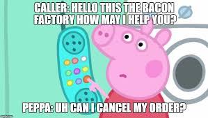 Peppa Pig Meme - peppa pig phone memes imgflip