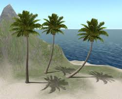 second marketplace sculpted palm tree set 3 copyable