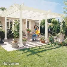 How To Attach A Pergola To A Deck by How To Build A Pergola Pergola Plans U2014 The Family Handyman