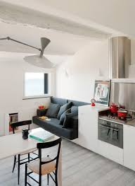 Attic Apartment by Small Modern Attic Apartment With Harbour View Idesignarch