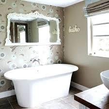 wallpaper ideas for bathrooms bathroom wallpaper ideas spred co