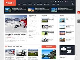sj new ii free joomla template for news magazine