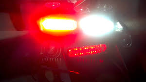 red and white led emergency lights led emergency strobe dash lights for sale red white youtube