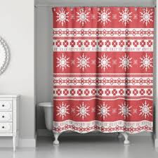 Red White Shower Curtain Buy Red And White Shower Curtain From Bed Bath U0026 Beyond