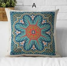 Chinese Home Decor Classical Chinese Style Flower Pillow For Home Decor Ethnic Style