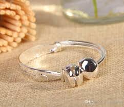 child bangle bracelet images Chinese style tibet silver baby kids children jingle bell bangle jpg