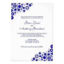 Royal Blue Wedding Invitations Wedding Invitation Blue Borders Matik For