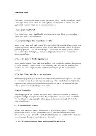 Example Job Application Cover Letter How To Send A Job Application Letter Via Email Law Essay