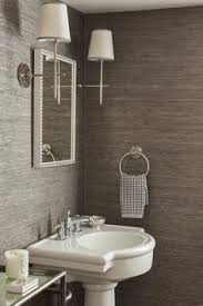9 ways to make a half bath feel whole half baths bath and wallpaper