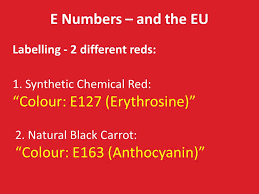 different reds the challenges of switching from artificial colours to