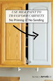 paint kitchen cabinets without sanding hbe kitchen