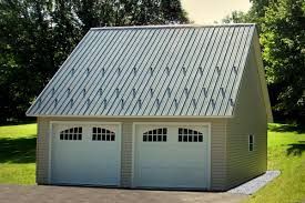 this 12 12 pitched roof on a two car garage allows for plenty of