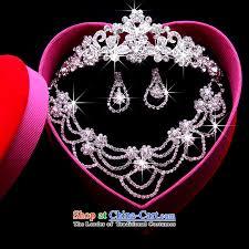 sang yi bridal make up wedding jewelry kit korean style hair
