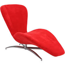 Red Leather Chaise Lounge Chairs Red Chaise Lounge Home Design Mannahatta Us