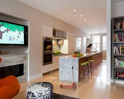 long narrow living room with fireplace in center long narrow kitchen island houzz