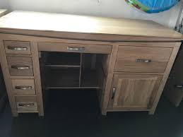 Solid Oak Furniture Large Solid Oak Tokyo Desk From Oak Furniture Land In Bristol