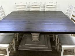 Large Square Dining Room Table Large Square Dining Room Table Marceladick