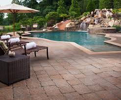 Types Of Patio Pavers by How To Get Rid Of Moss From Pavers Patios Driveways Install
