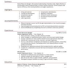 hr resume templates picturesque hr resume templates best human resources manager