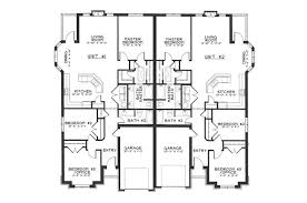 Single Story Duplex Floor Plans | pictures single story duplex designs floor plans the latest