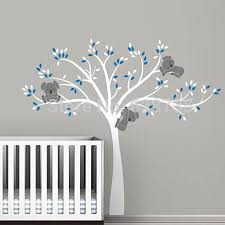 vinyl tree wall decals promotion shop for promotional vinyl tree free shipping oversized large koala tree wall decals for baby nursery baby nursery vinyl wall decor stickers t3026