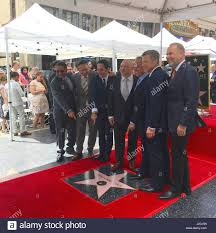 Hollywood Walk Of Fame Map Star On The Hollywood Walk Of Fame For Wolfgang Puck Stock Photos