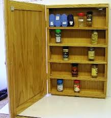 Wall Mount Spice Cabinet With Doors Spice Cabinets With Doors Spice Cabinets Custom Spice Cabinets