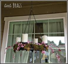 little brags an early spring porch
