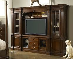 Furniture With Storage Cherry Wood Entertainment Center Homesfeed