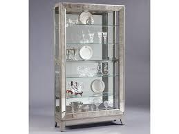Pulaski Furniture Curio Cabinet by Pulaski Furniture Curios Platinum Side Entry Curio Cabinet
