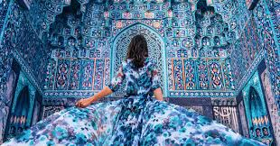 Prettiest Places In The World I Travel The World To Photograph Girls In Dresses Against