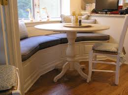 attractive corner kitchen table with storage bench dining room