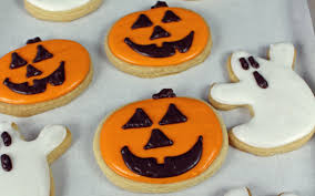 Halloween Cut Out Sugar Cookies by Halloween Sugar Cookies With Royal Icing Vegan One Green Planet