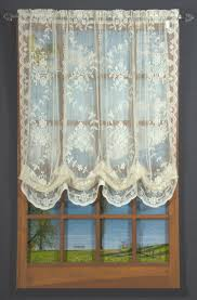 Lace Valance Curtains Fiona Lace Balloon Valance Thecurtainshop