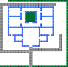 minecraft house blueprint grid paint