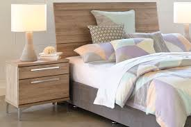 barclay 2 drawer bedsides by compac furniture harvey norman