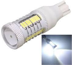 car brake light bulb generic mz t15 11w 5w 520lm white light cree 32 led 4014 smd car
