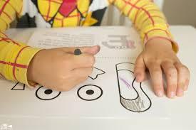animal alphabet e is for elephant craft a dab of glue will do
