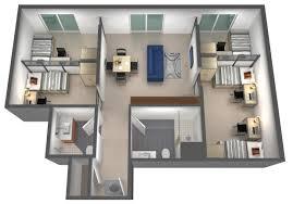 5 bedroom apartment floor plans ucsb u0026 sbcc 5 bedroom 2 bath student housing with ocean view