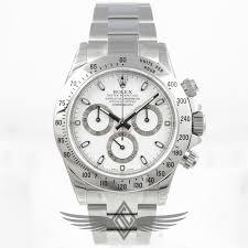 silver rolex bracelet images Rolex daytona stainless steel white dial 40mm oyster bracelet jpg