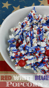 Red White And Blue Chocolate Best 25 Blue Popcorn Ideas On Pinterest Blue Food Ideas
